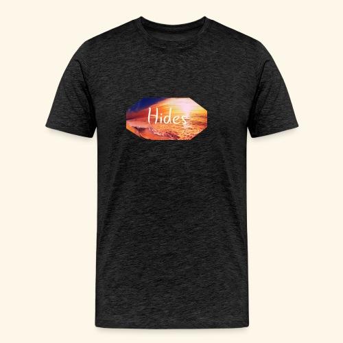 Hides Beach T-Shirt - Premium T-skjorte for menn