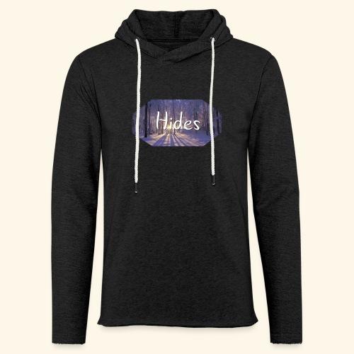 Hides Winter Woods Sweatshirt - Lett unisex hette-sweatshirt