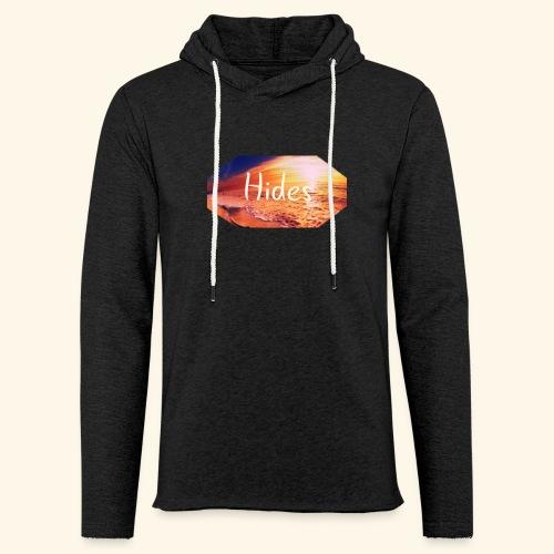 Hides Beach Sweatshirt - Lett unisex hette-sweatshirt