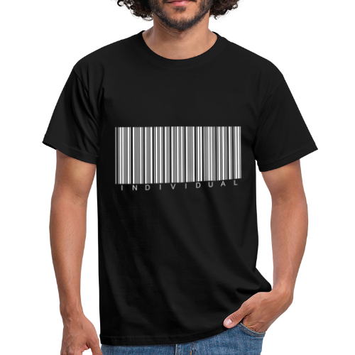 Individual Shirt Black - Men's T-Shirt