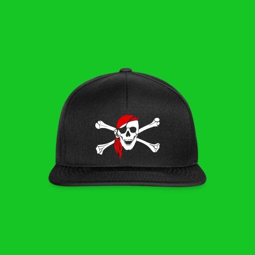 Piraat cap - Snapback cap