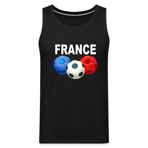 Football France - Men's Premium Tank Top