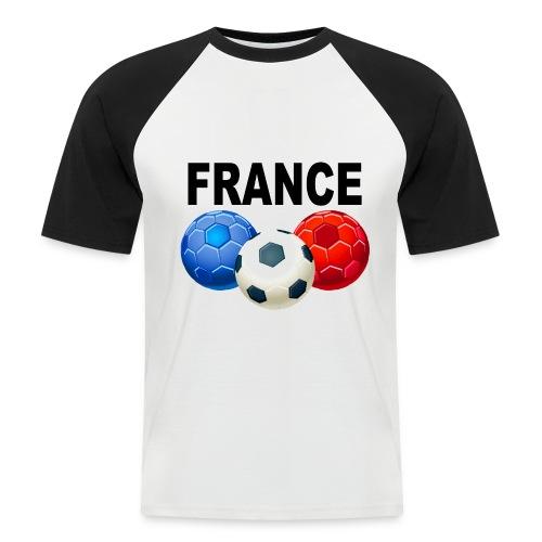 Football France - Men's Baseball T-Shirt