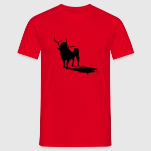 Rouge toro T-shirts - T-shirt Homme