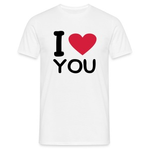 T-shirt Homme I love you - T-shirt Homme