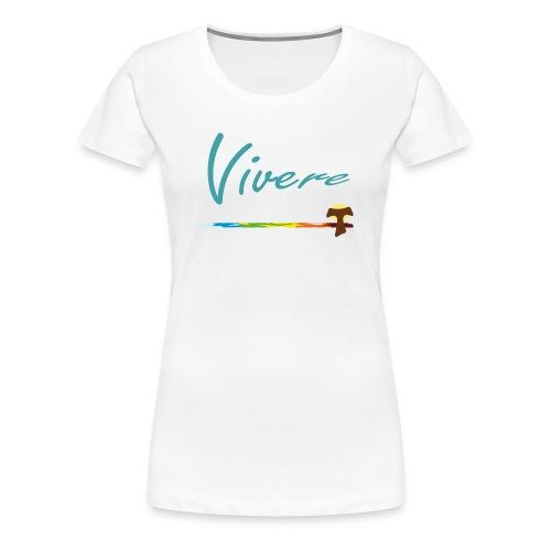 Vivere Vorn & Hinten Frauen - Frauen Premium T-Shirt