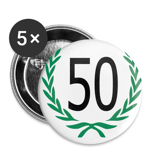 Een leuke button voor een jarige - Buttons middel 32 mm (5-pack)