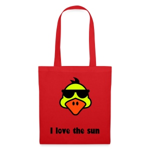 I love the sun - Bolsa de tela