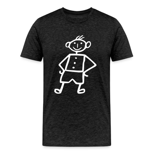 me grey - Männer Premium T-Shirt