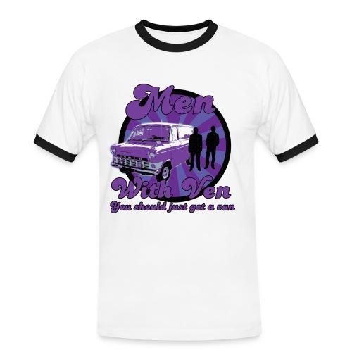 Men With Ven - Guys - Men's Ringer Shirt