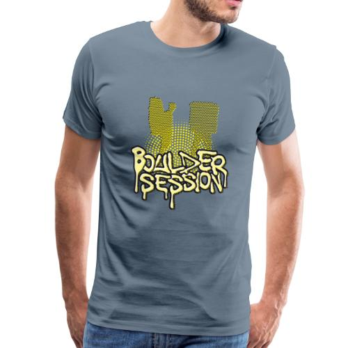 Boulder Session - Männer Premium T-Shirt
