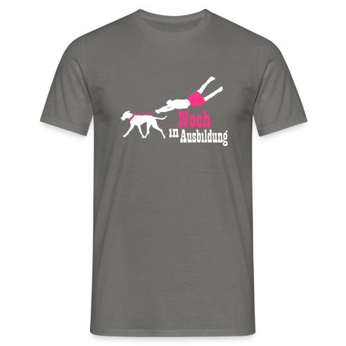 Lernender Hund - Männer T-Shirt