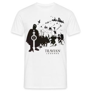 Battle - White - Men's T-Shirt