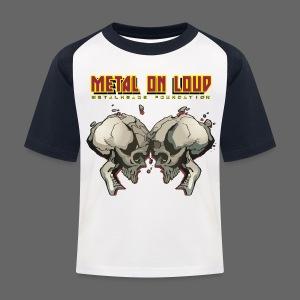Metal On loud KIDS T-shirt - Kids' Baseball T-Shirt