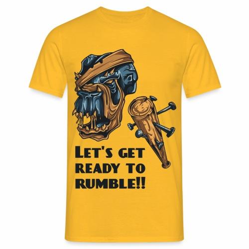 Let´s ready ... - Männer T-Shirt