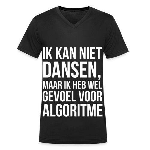 Man_Algoritme - Mannen bio T-shirt met V-hals van Stanley & Stella