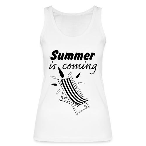 """Débardeur Femme """"Summer is coming"""" - Débardeur bio Femme"""
