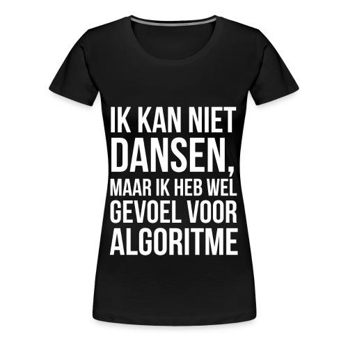 Vrouw_Algoritme - Vrouwen Premium T-shirt