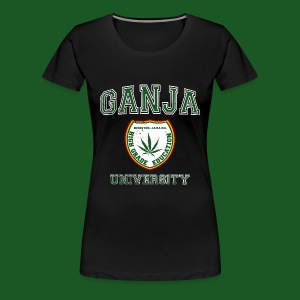 Ganja University - Frauen Premium T-Shirt