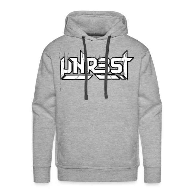 Unrest Hoodie MEN (Thick Logo Print)