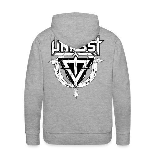 Unrest Hoodie MEN (Thick Logo Print) - Mannen Premium hoodie
