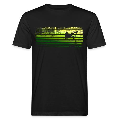 Wakefails.com Tank #Linewaker grunge green - Männer Bio-T-Shirt