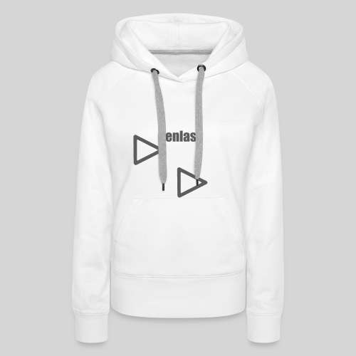 Weißer Frauen Hoodie - Frauen Premium Hoodie
