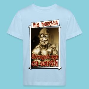 Kid's Organic T-shirt Muscle man - Kids' Organic T-shirt
