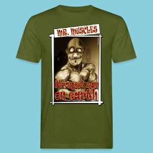 Men's Organic T-shirt Muscle man - Men's Organic T-shirt