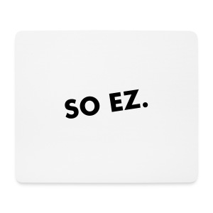SO EZ muismat - Mouse Pad (horizontal)