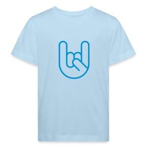 Rock hand - Kinderen Bio-T-shirt