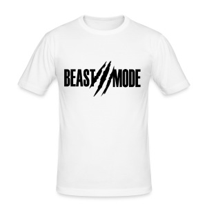 Tee (BeastMode) - Men's Slim Fit T-Shirt