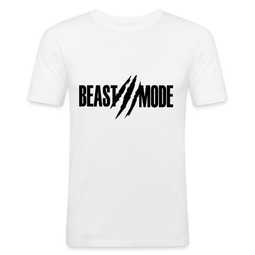 Tee (BeastMode) - Men's Slim Fit T-Shirt