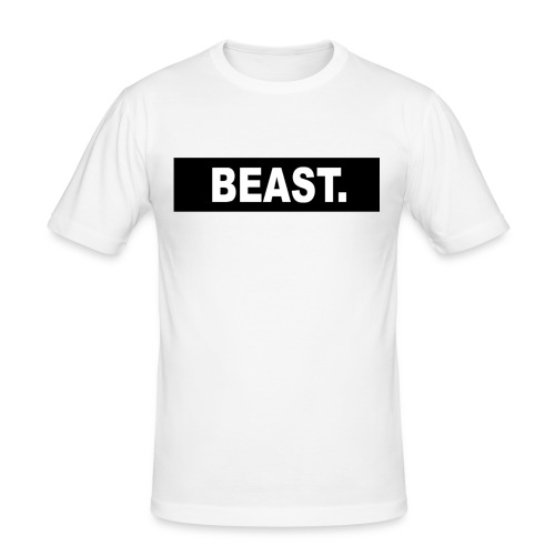 Tee (BEAST.) - Men's Slim Fit T-Shirt