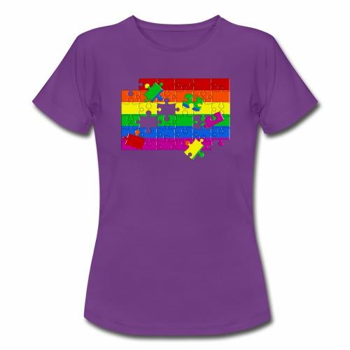 Camiseta mujer Gay puzzle - Camiseta mujer