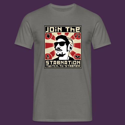 Join the Stabnation - Men's T-Shirt