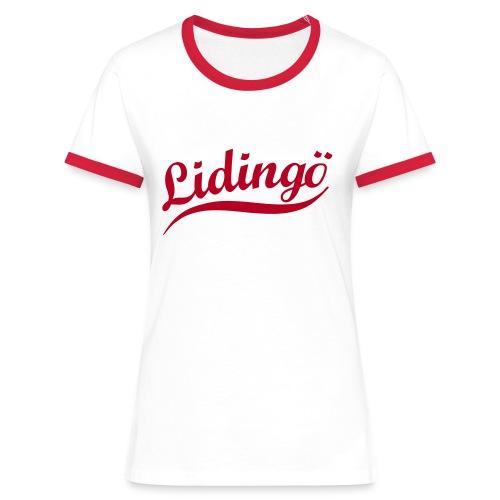 Exclusive Retro Tee - Kontrast-T-shirt dam