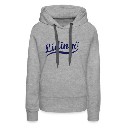 Lidingö Hood - Premiumluvtröja dam