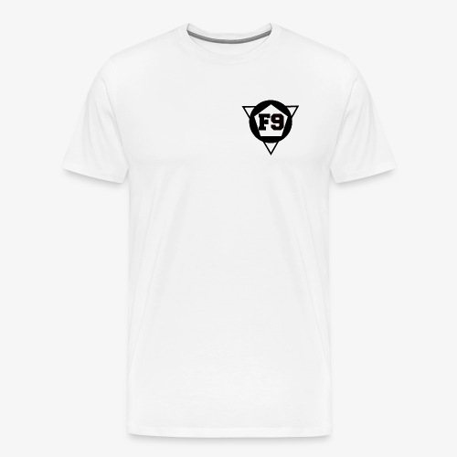 F9 White T - Men's Premium T-Shirt