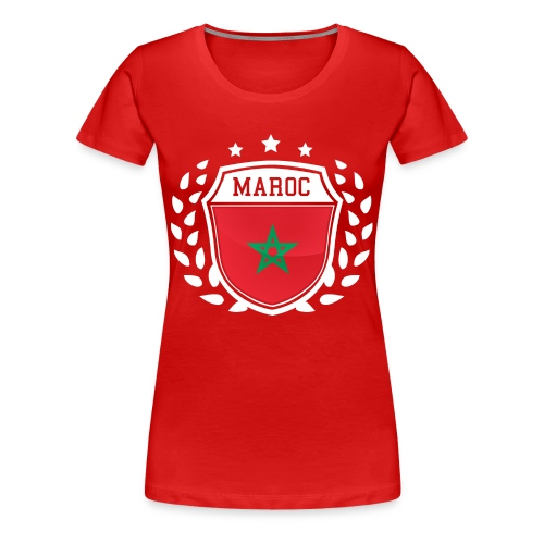 t-shirt Maroc - T-shirt Premium Femme