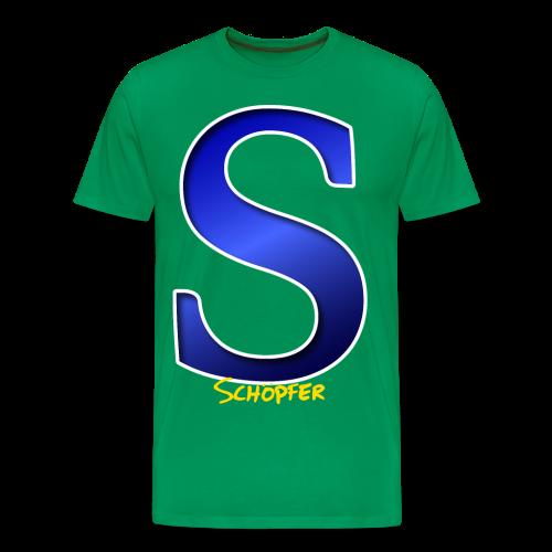S Schöpfer Schirt - Männer Premium T-Shirt