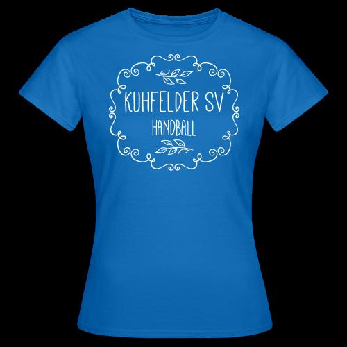 Kuhfelder SV Frauen T-Shirt vintage Blatt - Frauen T-Shirt