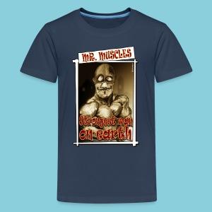 Teenage T-Shirt Muscle man - Teenage Premium T-Shirt