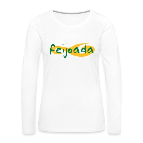 Feijoada Langarmschirt (Weiblich) - Frauen Premium Langarmshirt