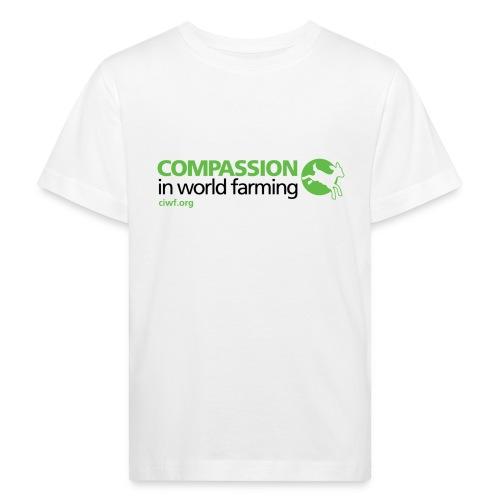 Compassion Logo- Front - Kids' Organic T-shirt