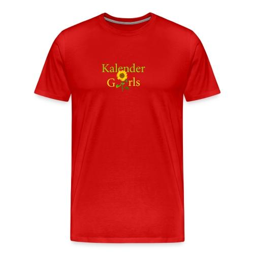 Kalender Girls - T-shirt Herren - Männer Premium T-Shirt