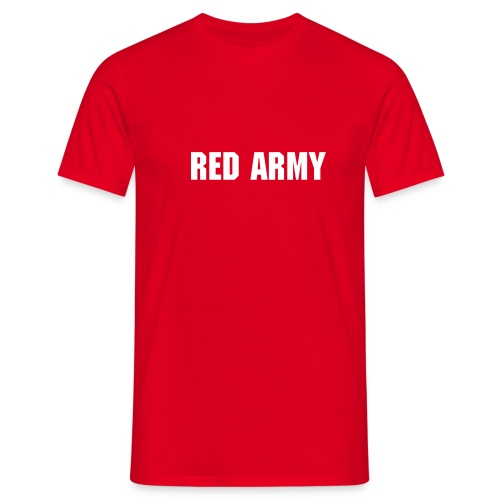 Custom Red Army Red - Men's T-Shirt