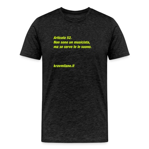 KM Difesa Personale - Maglietta Premium da uomo