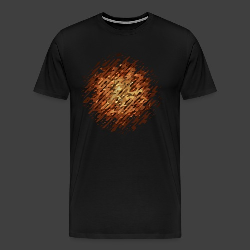 A hard, more crunchy version of brownies - Premium-T-shirt herr