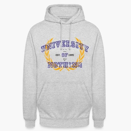 University of Nothing - Männer Hoodie - Unisex Hoodie